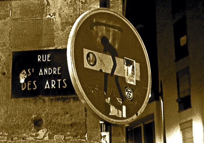 RUE ST. ANDRÉ DES ARTS © Eva Alarte Garví