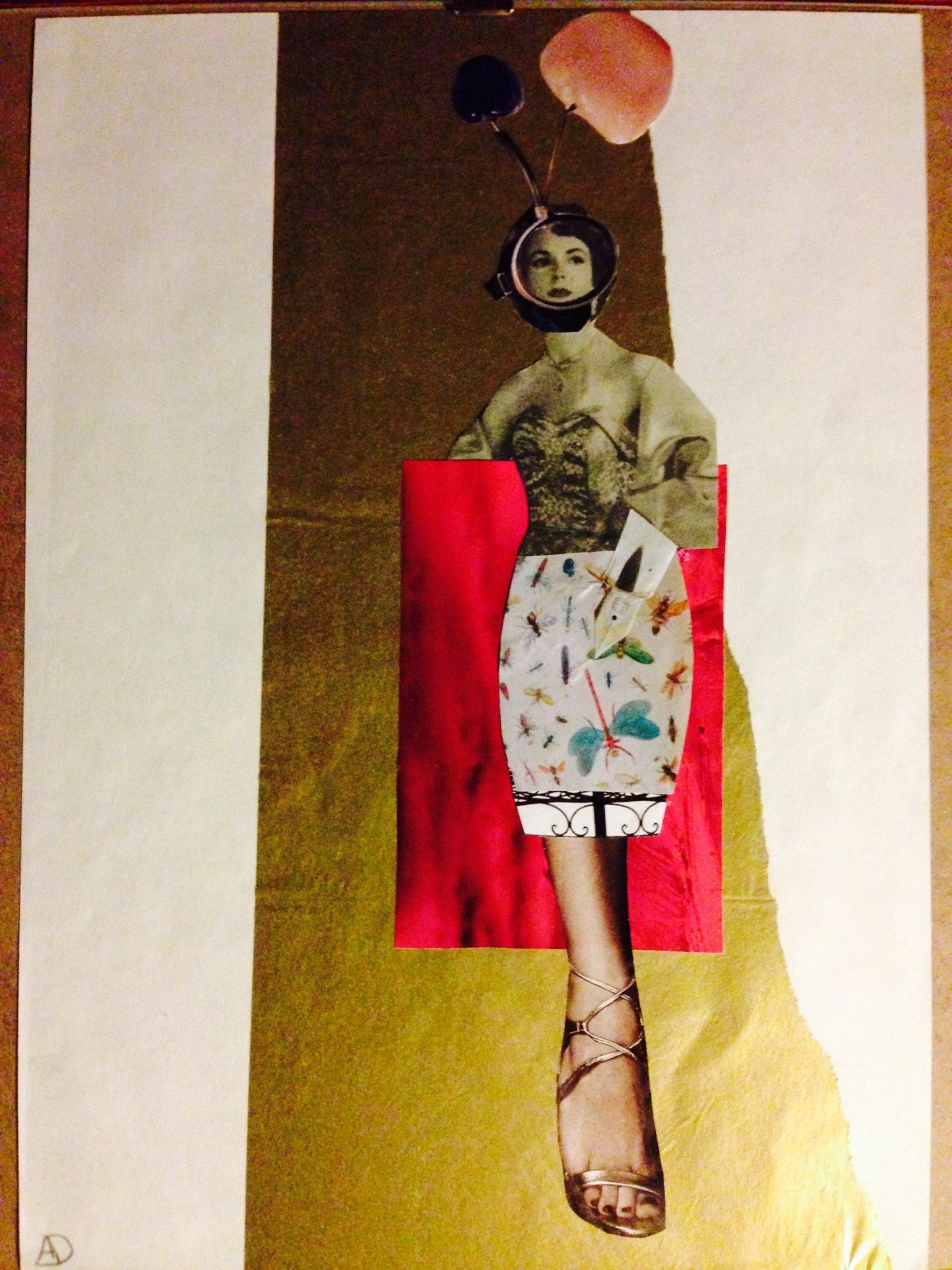 'anywayeva' Collage de Aurora Duque