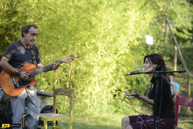 Ospite nel concerto di Fausto
